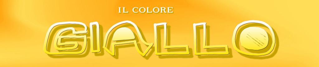 IL COLORE GIALLO banner